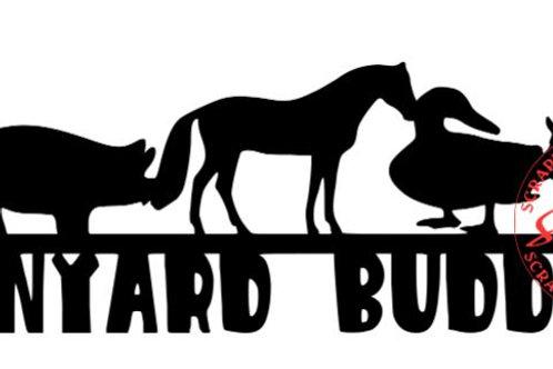 Barnyard Buddies Scrapbook Border