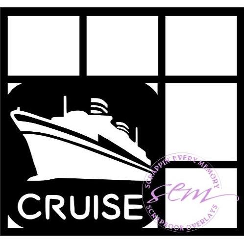 Cruise Scrapbook Overlay