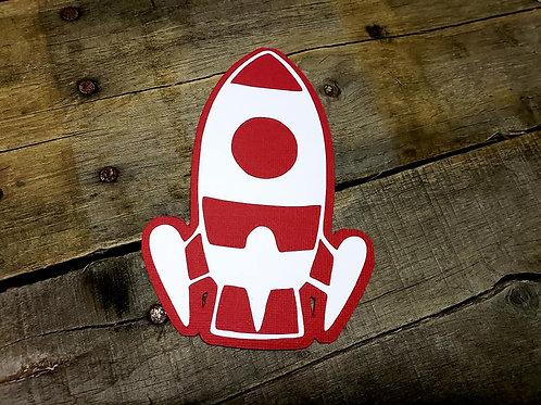 Space Shuttle Paper Piecing Die Cut