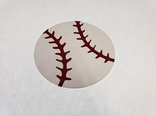Baseball Paper Piecing Die Cut