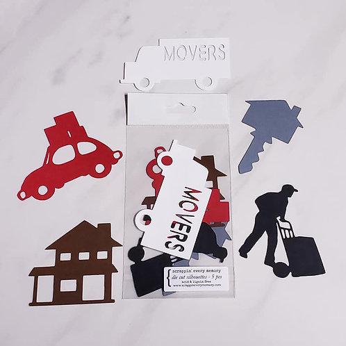 Moving Die Cut Silhouette Mini Set