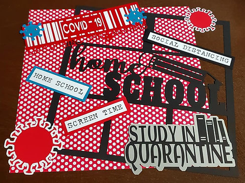 Home School Scrapbook Page Kits