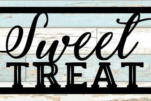 Sweet Treat Scrapbook Title