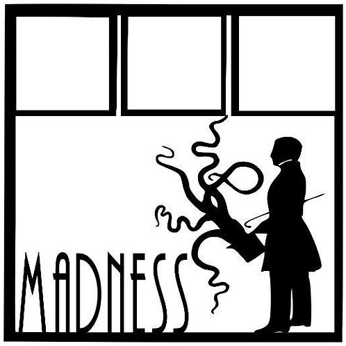 Steampunk Madness Scrapbook Overlay