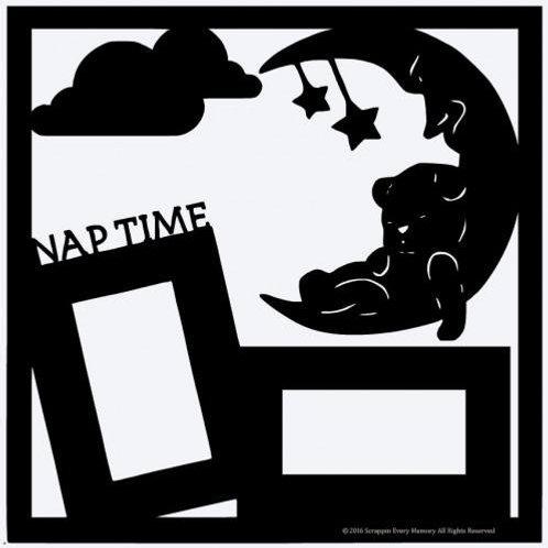 Nap Time Scrapbook Overlay