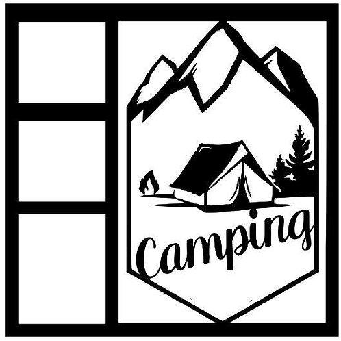 Camping Life Scrapbook Overlay