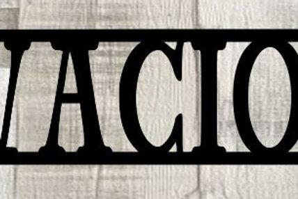 Vivacious Scrapbook Page Title Single