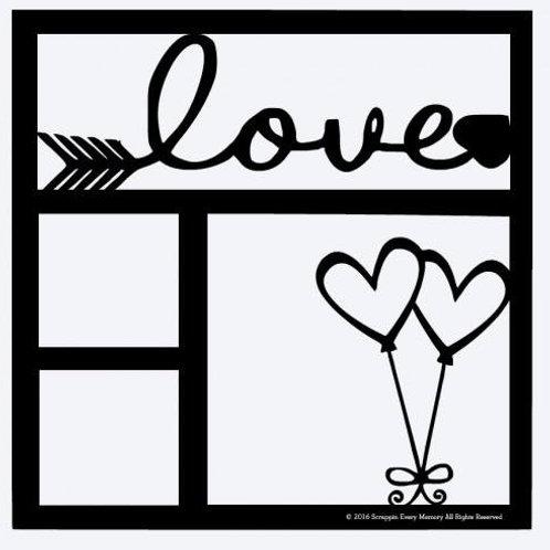 Love Scrapbook Overlay
