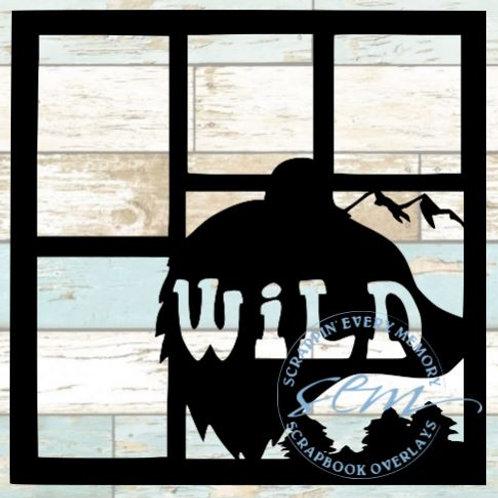 Wild Scrapbook Overlay