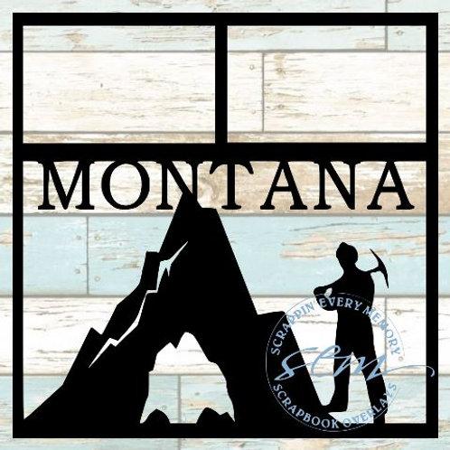 Montana Scrapbook Overlay