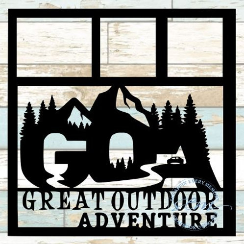 Great Outdoor Adventure Scrapbook Overlay