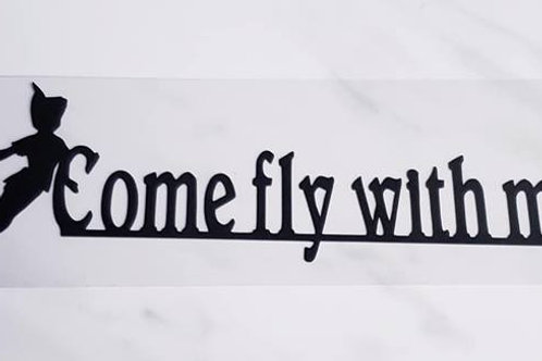 Come Fly With Me Scrapbook Deluxe Die Cut