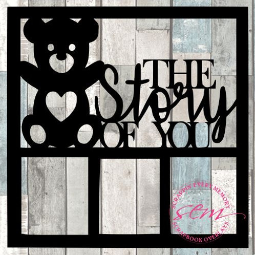 The Story Of You Scrapbook Overlay