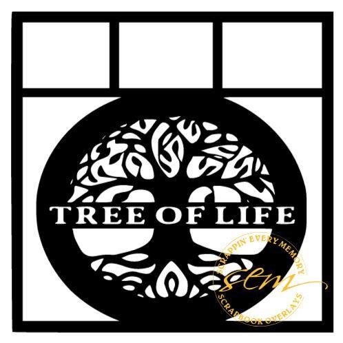 Tree Of Life Scrapbook Overlay