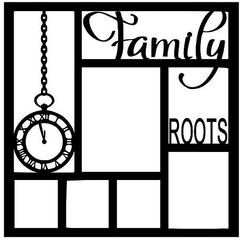 Family Roots Scrapbook Overlay