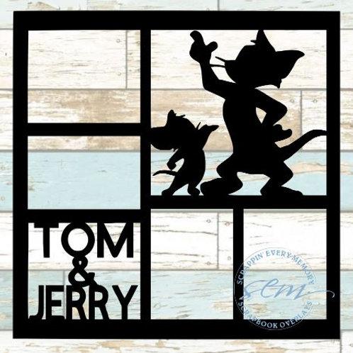 Tom & Jerry Scrapbook Overlay