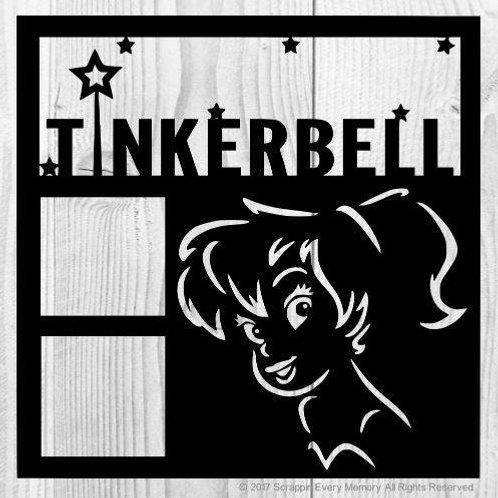 Tinkerbell Scrapbook Overlay
