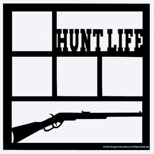 Hunt Life Scrapbook Overlay