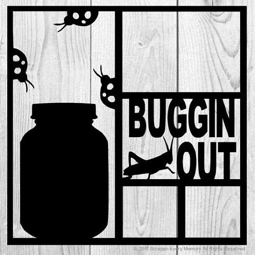 Buggin Out Scrapbook Overlay