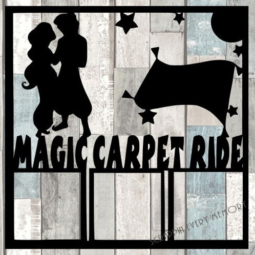 Magic Carpet Ride Scrapbook Overlay
