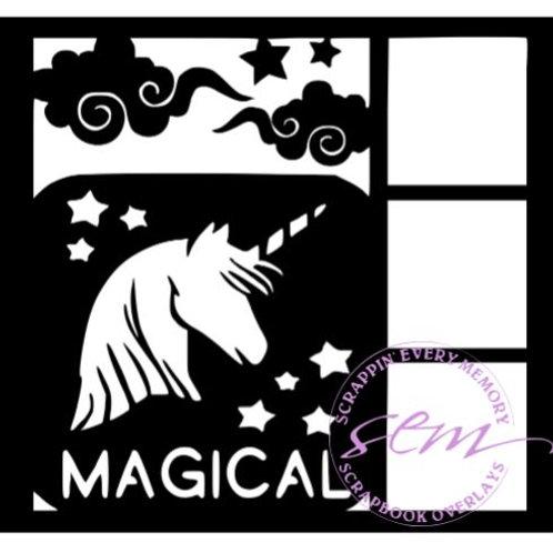 Magical Scrapbook Overlay