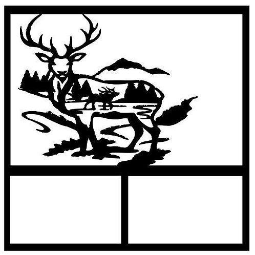 Buck Scrapbook Overlay