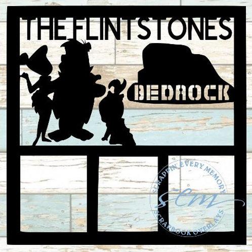 The Flintstones Scrapbook Overlay