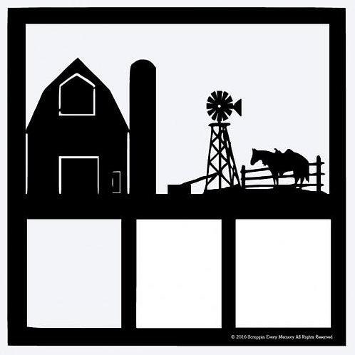 Farm Scrapbook Overlay