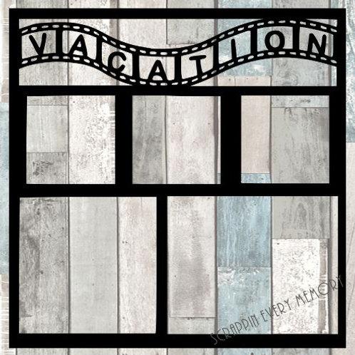 Vacation Scrapbook Overlay