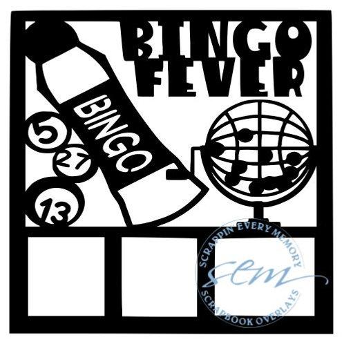 Bingo Fever Scrapbook Overlay