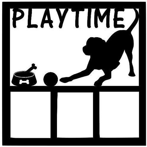 Playtime Scrapbook Overlay