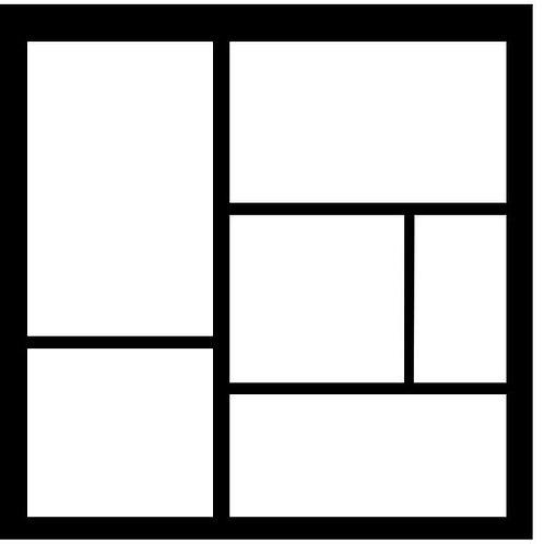 Frame 213 Scrapbook Overlay