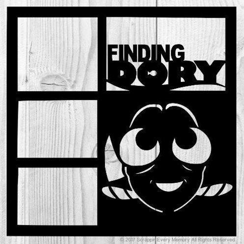 Finding Dory Scrapbook Overlay