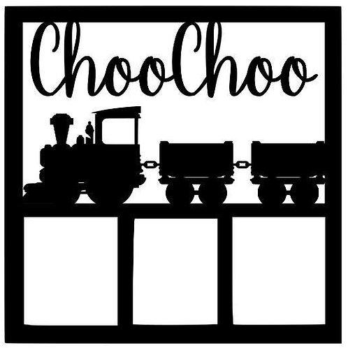 Choo Choo Scrapbook Overlay