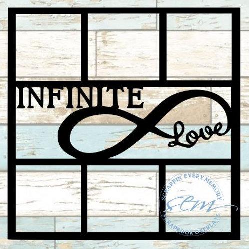 Infinite Love Scrapbook Overlay