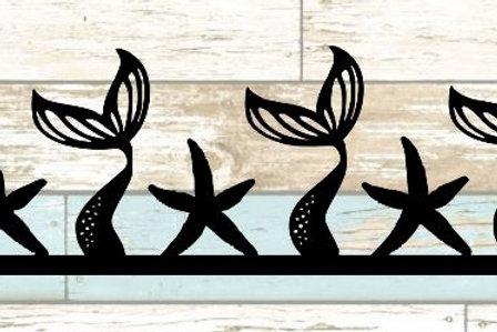 Mermaid Tails Scrapbook Border
