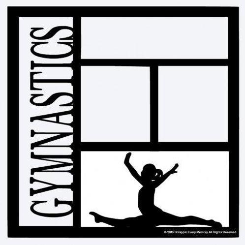Gymnastics Scrapbook Overlay