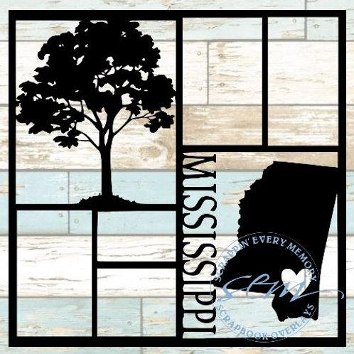 Mississippi Scrapbook Overlay