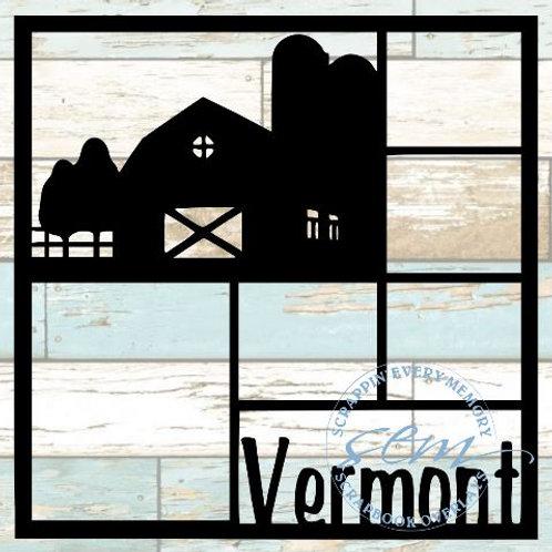 Vermont Scrapbook Overlay