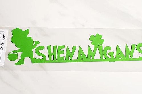 Shenanigans Scrapbook Deluxe Die Cut
