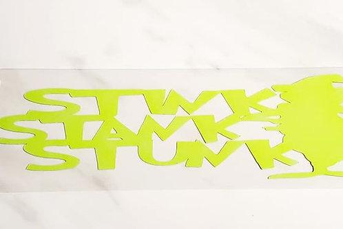 Stink Stank Stunk Scrapbook Deluxe Die Cut