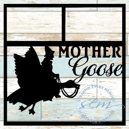 Mother Goose Scrapbook Overlay