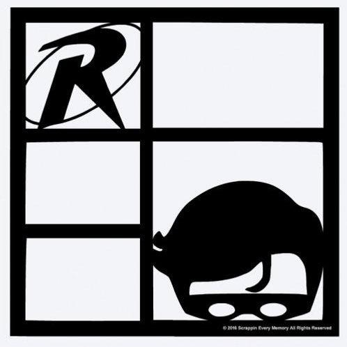 Robin Scrapbook Overlay