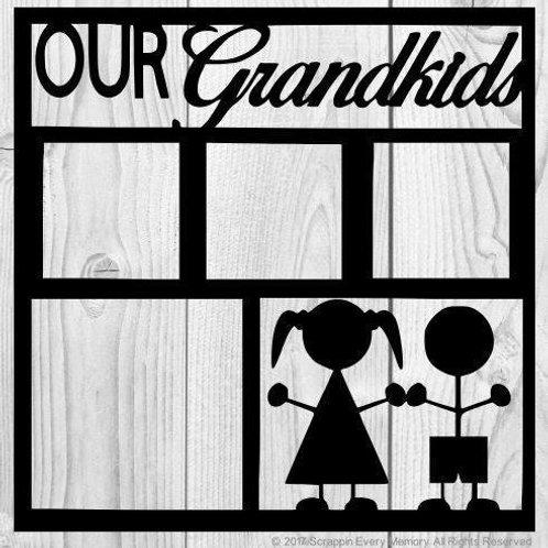 Our Grandkids Scrapbook Overlay