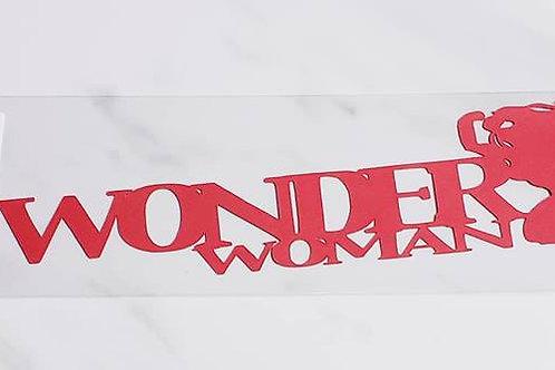 Wonder Woman Scrapbook Deluxe Die Cut