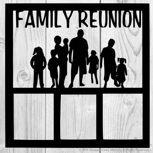 Family Reunion Scrapbook Overlay