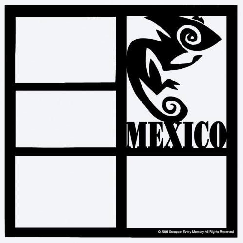 Mexico Scrapbook Overlay