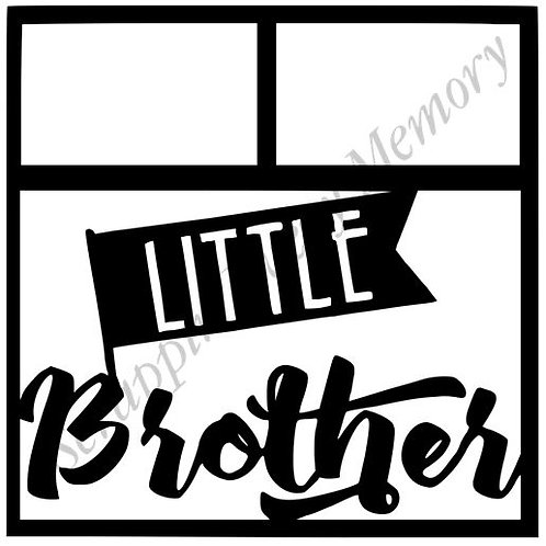 Little Brother Scrapbook Overlay