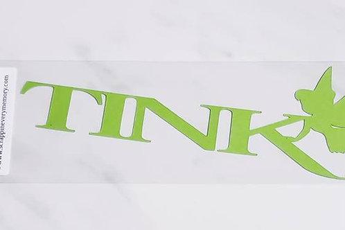 Tink Scrapbook Deluxe Die Cut