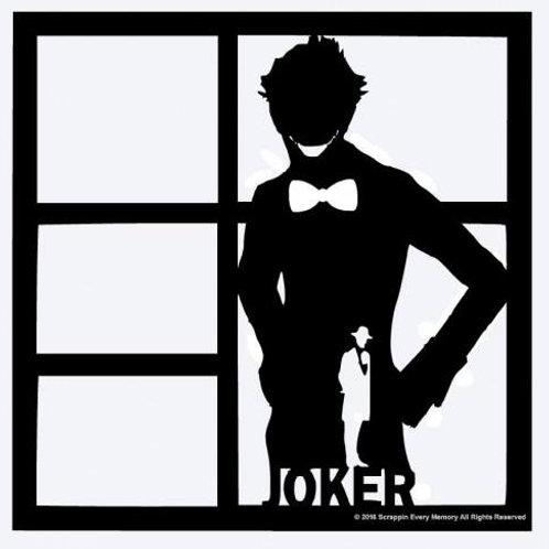 Joker Scrapbook Overlay